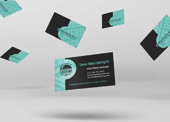Comox Valley Catering Business Cards