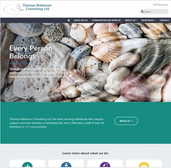 Thomas Robinson Site Screenshot